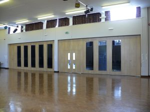 Sliding Walls used in School Hall