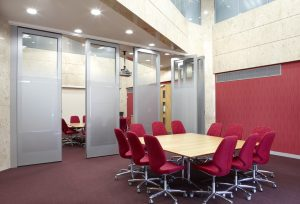 Movable Walls in Meeting Rooms
