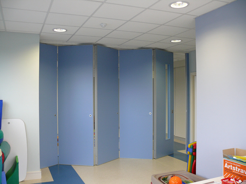 Sliding Wall is Nursery Classroom