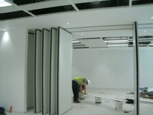 New Building Installation of Movable Walls