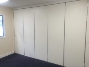 White Sliding Walls For Business