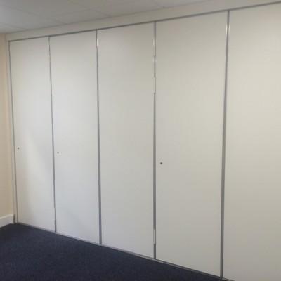 White Sliding Walls For Business