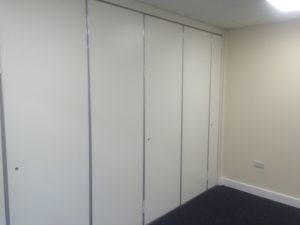 Closed Wall Partition for small rooms