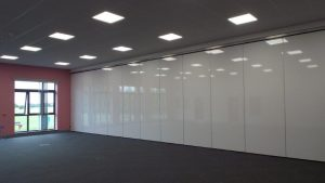 Acoustic Wall Partitions to Separate Classrooms
