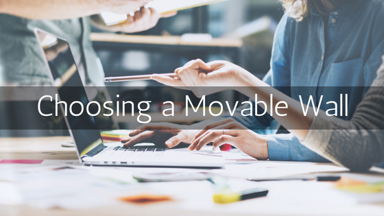 Choosing a Movable Wall
