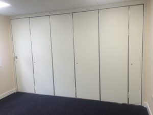Sliding Walls in Small Office