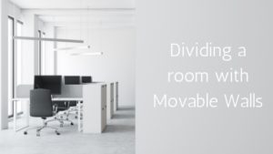 Dividing a room with Movable Walls