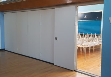Canteen to Hall Sliding Wall