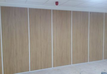 Belifield School Sliding Wall Partitions