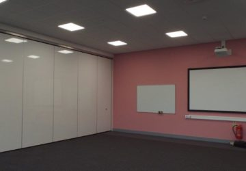 Classroom Closed Movable Wall