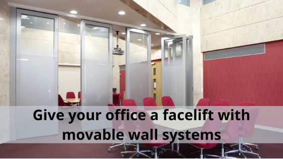 Give your office a facelift with movable wall systems
