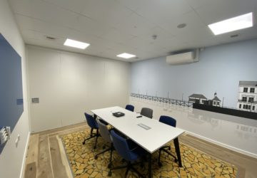 Ipswich Offshore Windfarm Conference room with Sliding Wall