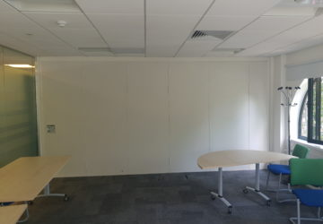 Sliding Wall in Cambridge Office