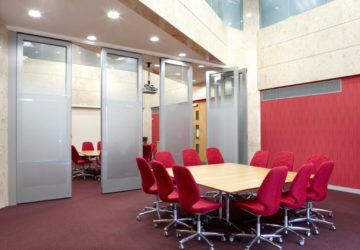 Group Offices with Teachwall 100