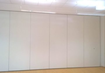 Closed White Movable Partitions