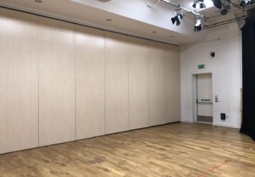 Movable Wall in Gym