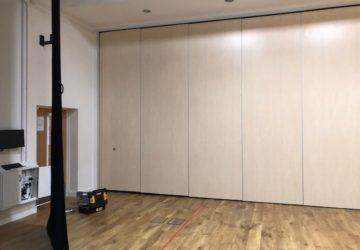 Sports Hall Movable Wall