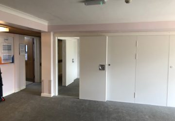 Sliding Wall for room and Storage Room