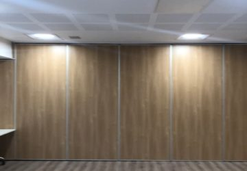 Oak Coloured Movable Wall