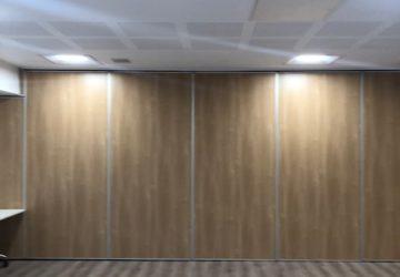 Oak Coloured Movable Wall