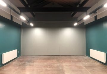 Dance Studio Movable Wall