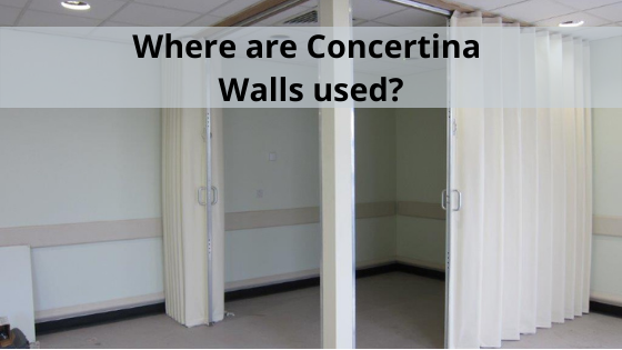 Where are Concertina Walls used?